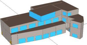 Energy Model Platform Bldg E